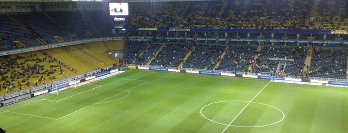 Ülker Stadyumu Fenerbahçe Şükrü Saracoğlu Spor Kompleksi is one of Orte, die Faruk gefallen.