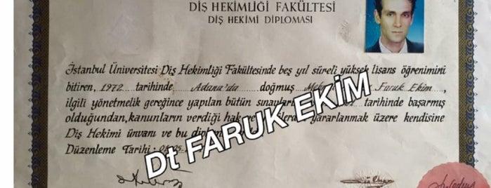 Diş Hekimliği Fakültesi is one of สถานที่ที่ Faruk ถูกใจ.