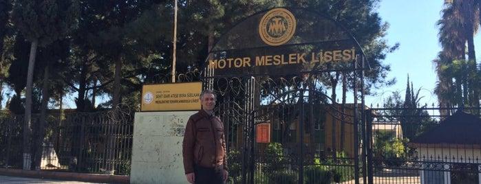 adana motor meslek lisesi is one of Orte, die Faruk gefallen.