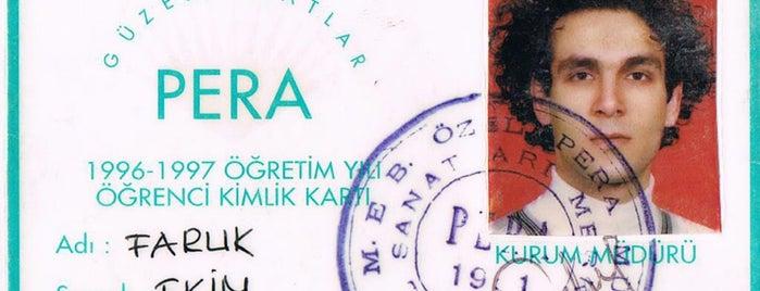 Pera Güzel Sanatlar Lisesi is one of Orte, die Faruk gefallen.