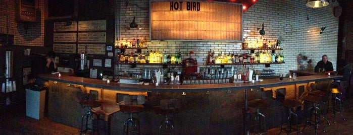 Hot Bird is one of nyc - outdoor wine/dine.