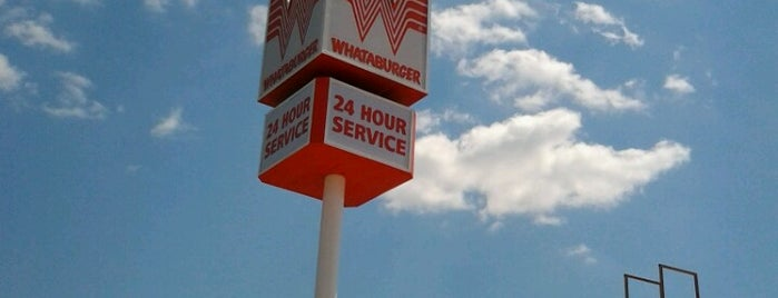 Whataburger is one of My Haunts.