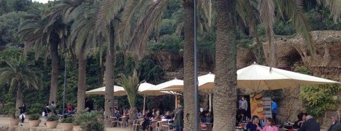 Bar del Parc Güell is one of Gaudi in Barcelona.