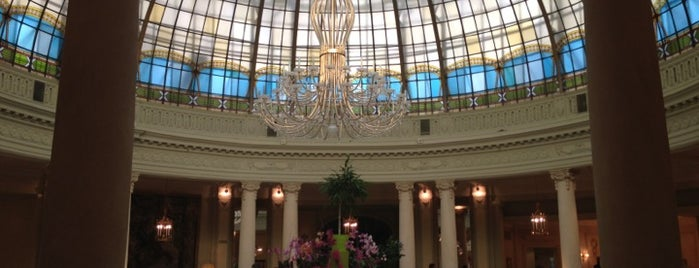 The Westin Palace is one of Brunch in Madrid.