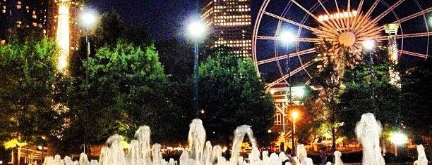 Centennial Olympic Park is one of atlanta.