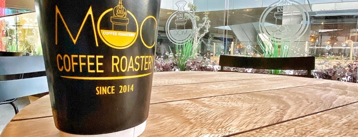 MOC Coffee Roastery is one of K.
