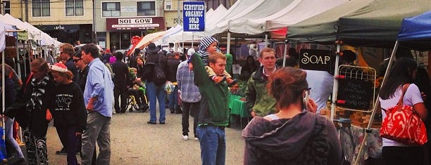 Inner Sunset Farmers Market is one of to do in sf.