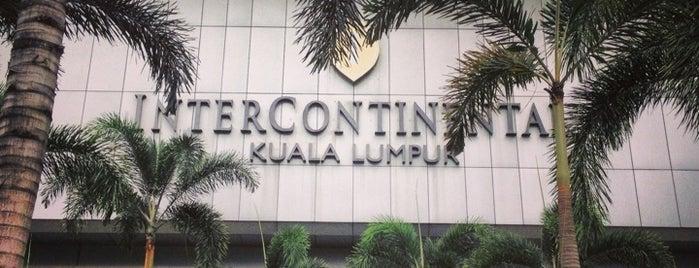 InterContinental Kuala Lumpur is one of Tempat yang Disukai Parisa.