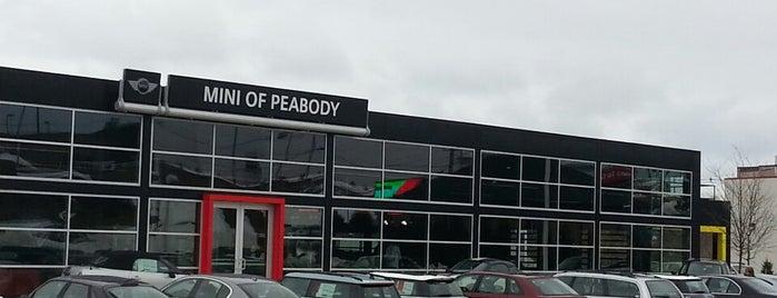 MINI of Peabody is one of Locais curtidos por Margot.