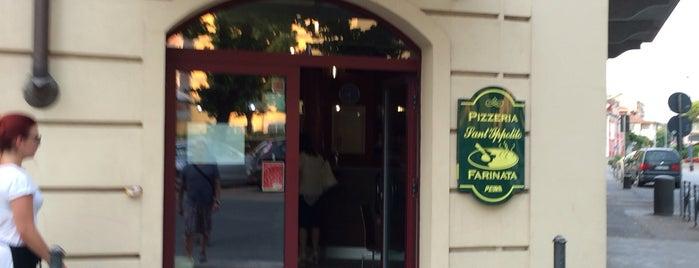 Pizzeria Farinata Sant'Ippolito is one of Piemonte my love.