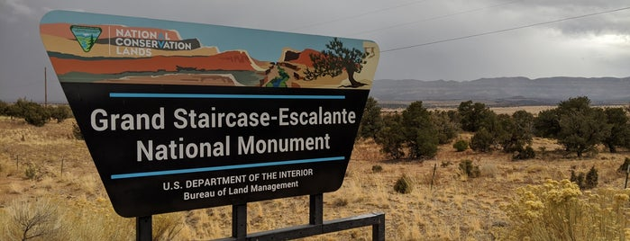 Grand Staircase Escalante National Monument is one of Posti salvati di Lizzie.