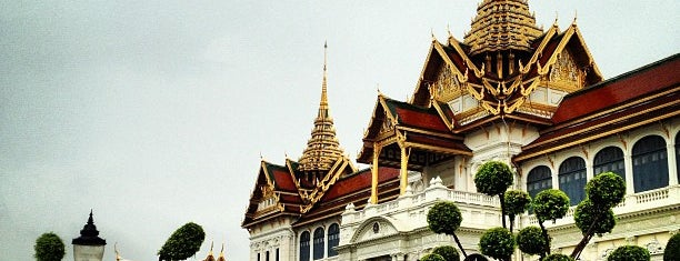 The Grand Palace is one of Thailand.