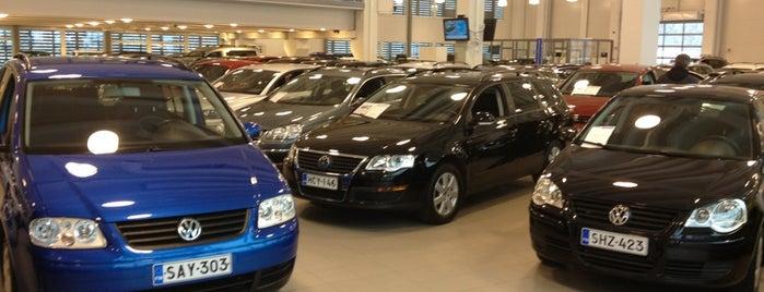Volkswagen Center is one of Lugares favoritos de Teemu.
