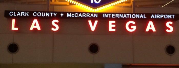 McCarran International Airport (LAS) is one of Vegas.