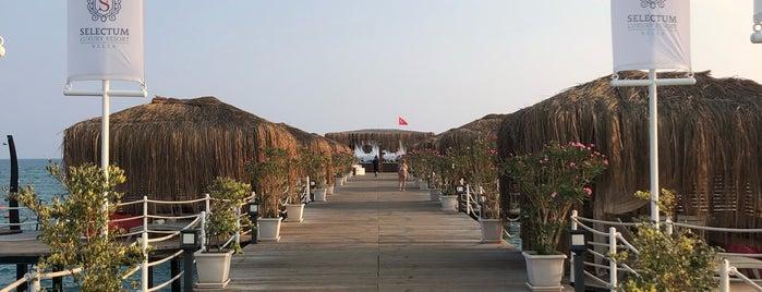 Selectum Private Beach is one of Locais curtidos por Ilknur ★.