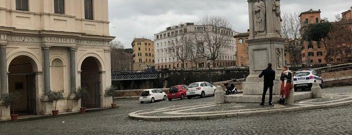 Basilica di San Bartolomeo is one of ROME - ITALY.