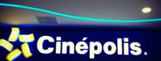 Cinépolis is one of Lugares favoritos de Marteeno.