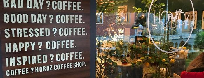 Horoz Coffee Shop is one of Orte, die 'Özlem gefallen.