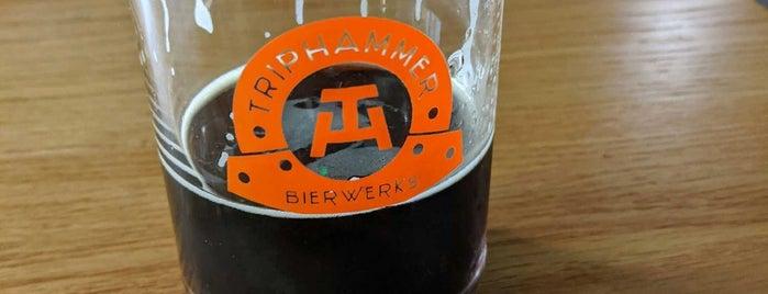 Triphammer Bierwerks is one of Take zucchini.