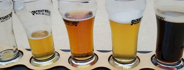 Naked Winery & Sick-N-Twisted Brewing Company is one of Rapid City.