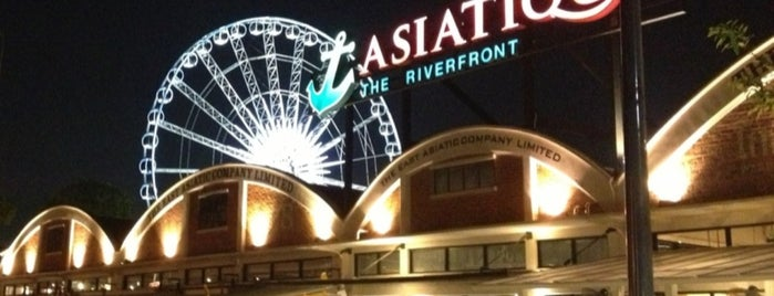 Asiatique The Riverfront is one of Bangkok.
