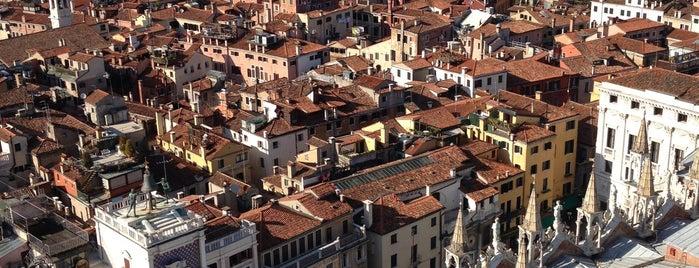 Campanile di San Marco is one of Venice.