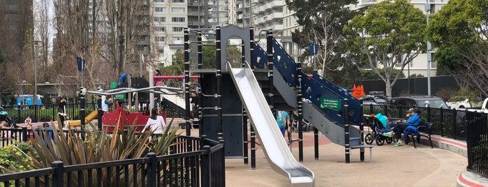 Sue Bierman Park Playground is one of Lieux qui ont plu à andra.