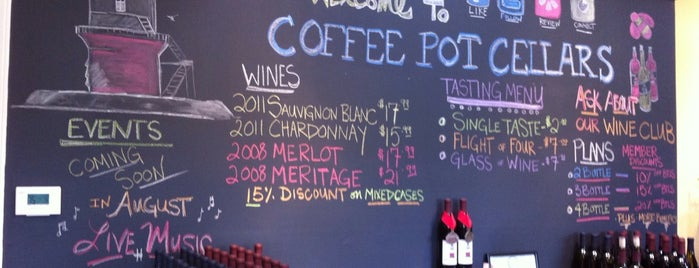 Coffee Pot Cellars is one of Favorite North Fork Wine Spots.