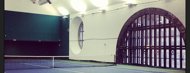 Vanderbilt Tennis Club is one of New York, my dear New York.