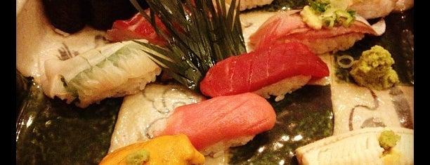 Sushi Zen is one of Yuka's NYC list.