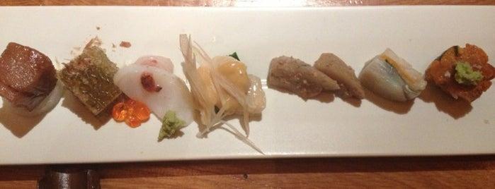 Ichimura at Brushstroke is one of Endo's Foodie Heaven.