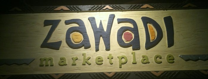 Zawadi Marketplace is one of October 2014 Disney Trip.