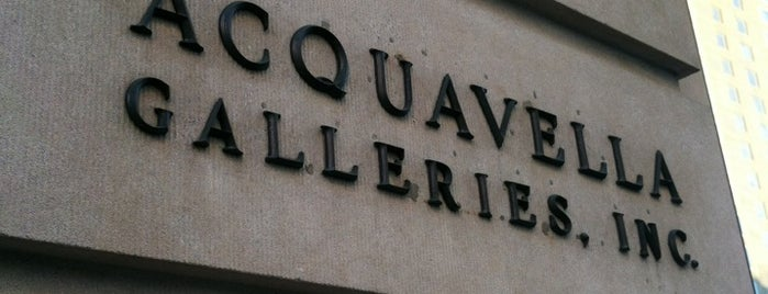 Acquavella Galleries is one of NYC.