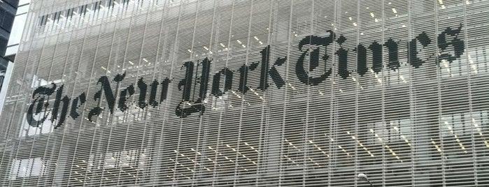 뉴욕타임즈 빌딩 is one of New York.