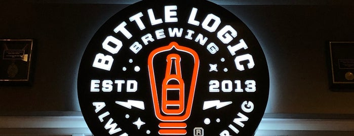 Bottle Logic Brewing is one of Beer / Ratebeer's Top 100 Brewers [2019].