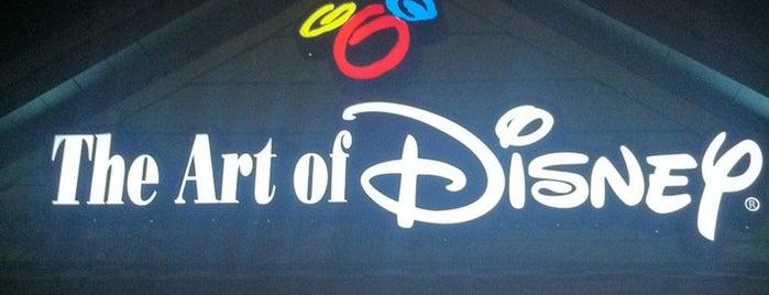 The Art of Disney is one of Disney Springs.