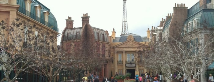 France Pavilion is one of #WDW Fave Spots.