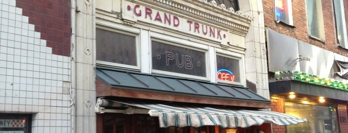 Grand Trunk Pub is one of Dark Rye Detroit: Eat and Drink.