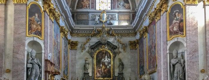Stolnica Sv. Nikolaja / The Cathedral is one of Ljubljana.