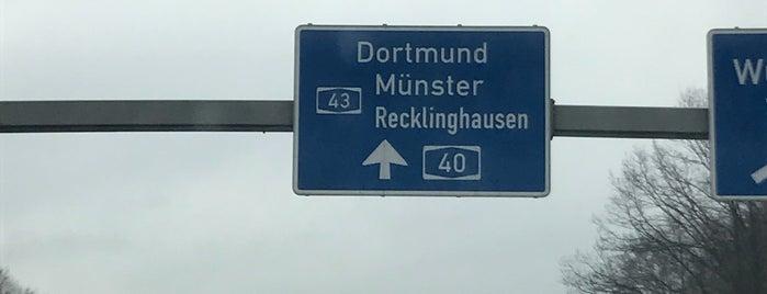 Kreuz Bochum (38) (17) is one of Autobahnkreuze.