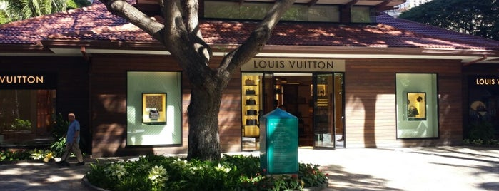 Louis Vuitton is one of Hawaii Omiyage.