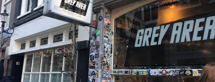 Grey Area Coffeeshop is one of [To-do] Amsterdam.