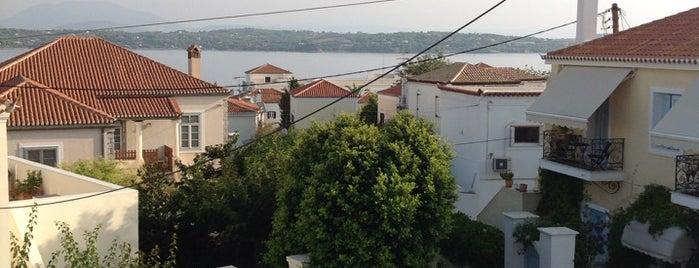 Villa Victoria is one of Spetses Island.