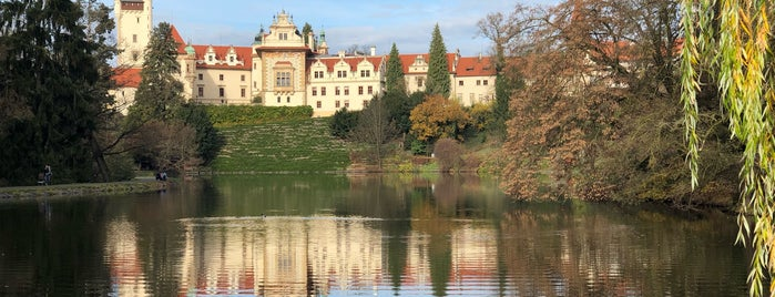 Zámek Průhonice is one of Prague.