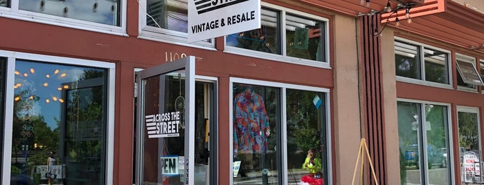 Across The Street Vintage & Resale is one of More Venues I've Created.