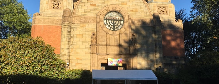 Temple Beth Israel is one of Lieux qui ont plu à Susan.