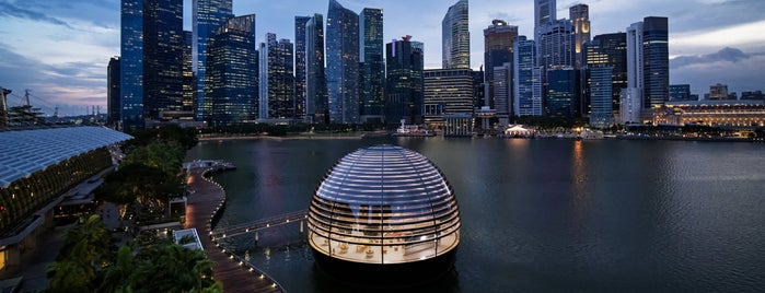 Apple Marina Bay Sands is one of More Venues I've Created.