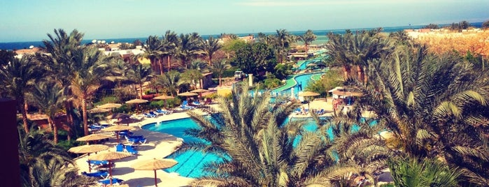 Calimera Golden Beach Hurghada Hotel is one of Orte, die Катюша💞 gefallen.