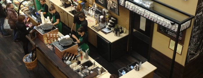 Starbucks is one of Кафешки.