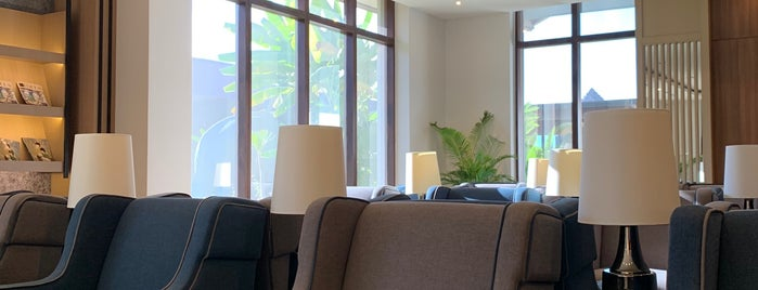 Plaza Premium Lounge is one of สถานที่ที่ Caro ถูกใจ.